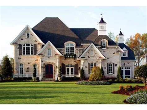 the home source chateau house plan with 5196 square feet and 5 bedrooms