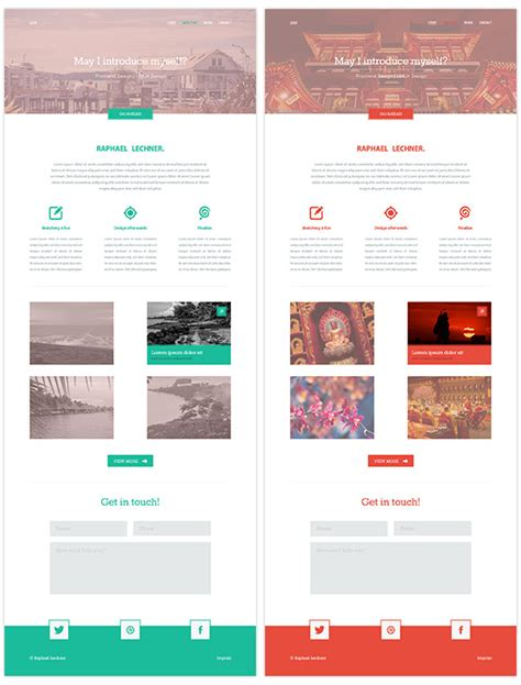 page psd template 15 best psd website templates for 2014