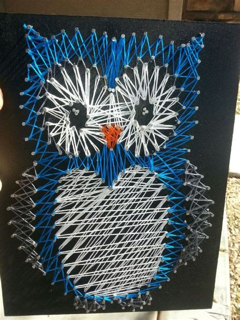 string art pattern owl nursery owl string art wall decoration for the by