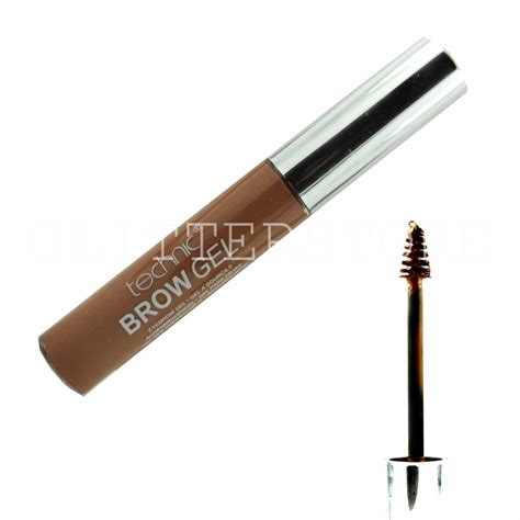 light brown waterproof mascara technic eyebrow gel light medium brown all shades