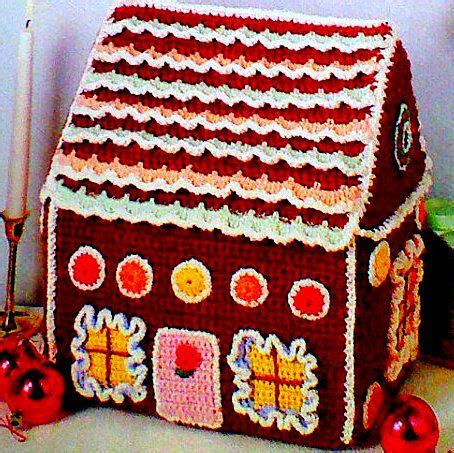 knitting pattern gingerbread house 949 best christmas home crochet images on pinterest