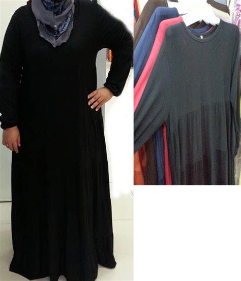 dres saiz besar kelengkapan haji dan umrah maxi dress saiz besar