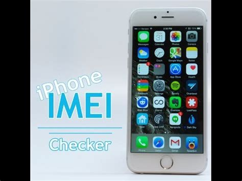 Iphone Imei Check Iphone Imei Checker Check Carrier Lost Stolen Blacklisted Imei Status