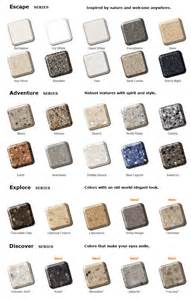 Corian Adhesive Chart Corian Solid Surface Colors Pictures To Pin On Pinterest