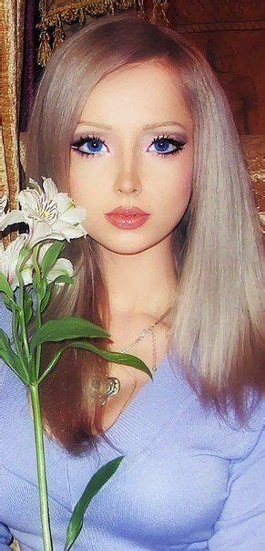 ukraines real life barbies to bring spirituality to the 21 year old russian model valeria lukyanova looks