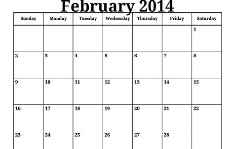 2014 Calendar Template Monthly 6 best images of printable 2014 monthly calendar portrait