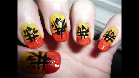 nail art tutorial new year unique chinese new year nail art tutorial youtube