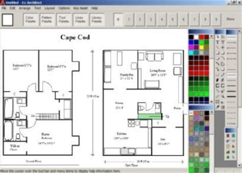 House Design Software For Windows 7 Ez Architect For Windows 7 And 8 And 10 And Vista