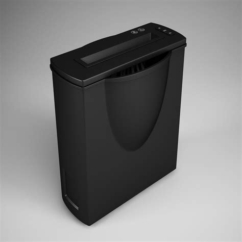 home paper shredder 3d home paper shredder 17 model