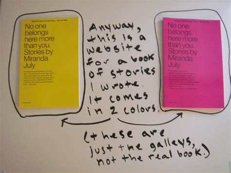 one here no one belongs here more than you stories by miranda july