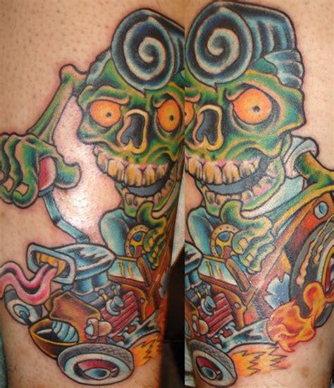 hot zombie tattoo hot rod zombie tattoo tattooimages biz