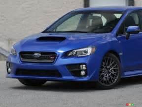 2015 Subaru Wrx Sti Review 2015 Subaru Wrx Sti Review Editor S Review Auto123