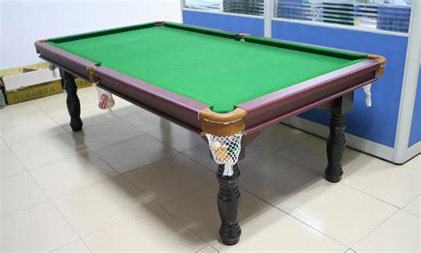 pub size pool table 8ft traditional snooker billiard table