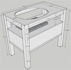 Primo Grill Table Plans diy table plans primo xl wooden pdf free wood shed plans