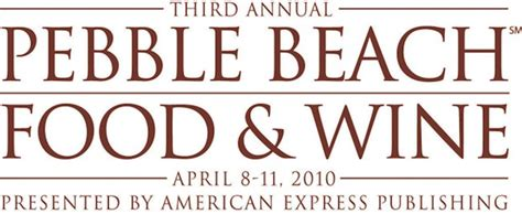 My Way Through The Pebble Food Wine Festival by The Sixth Annual Pebble Food Wine Festival