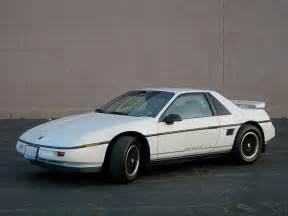 Pontiac Fiaro Pontiac Fiero 1984 1988
