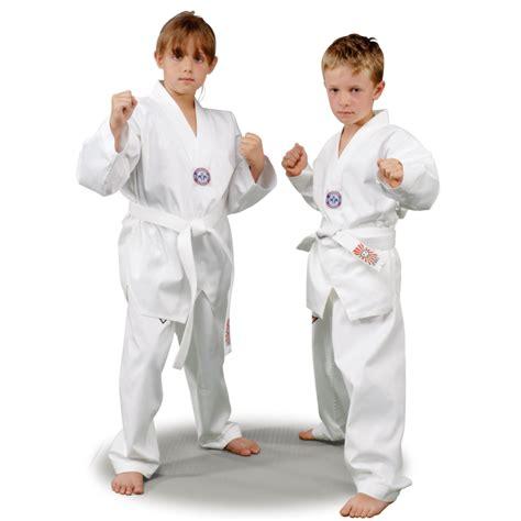 Empro Dobok Taekwondo Pemula 130 140 150 160 dobok taekwondo iniciaci 243 n