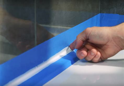 easiest way to caulk a bathtub the easiest way to silicone a bath or shower tray tile