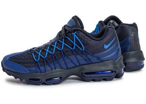 Chausures Air Nike Air Max 95 Ultra Se Bleu Marine Chaussures Baskets Homme Chausport