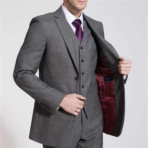 light grey three suit business light grey three suit ownonly