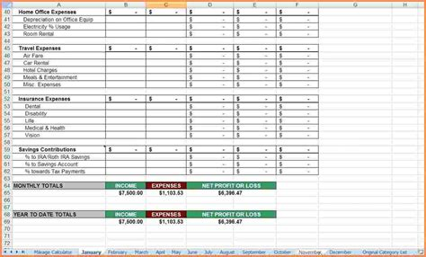 13 real estate agent expenses spreadsheet excel