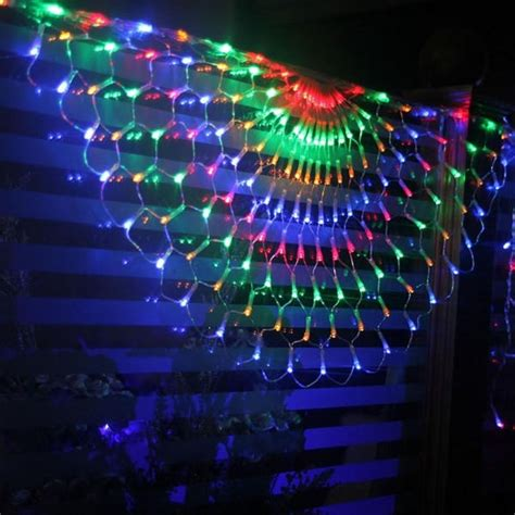 christmas light ornaments indoor 260 led waterproof indoor outdoor peacock from bling bling