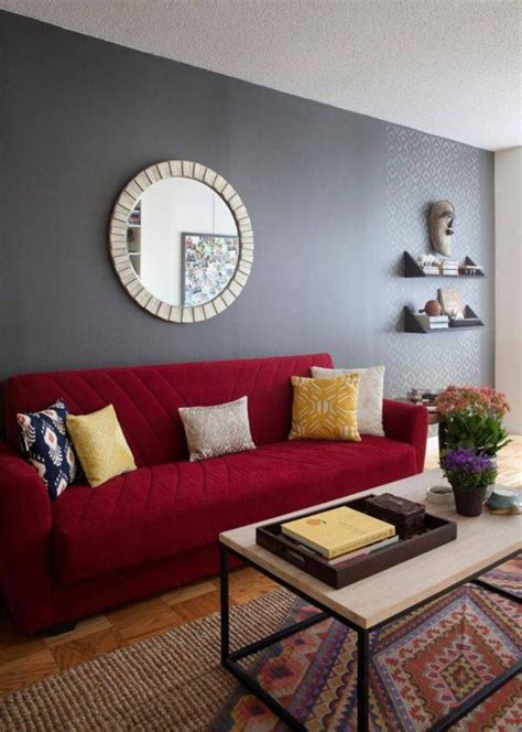 red color schemes for living rooms beautiful dark red paint color for room home combo