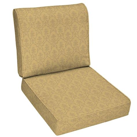 hton bay patio chair cushions fenton replacement cushion set garden hton bay fenton replacement outdoor lounge chair home