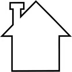 Best House Plans house out line sketch clipart best