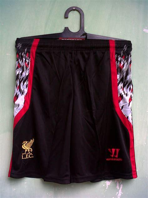 Jersey Retro Mu 98 99 celana bola grade ori liverpool away 13 14 brilian muda