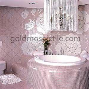 Tile Murals For Backsplash - jy p w07 winter flowers pink glass bisazza mosaic bedroom wall tile jy p w07 5 00