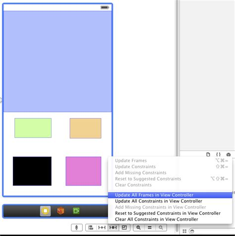 xcode auto layout update frames ios resize uiview with auto layout stack overflow