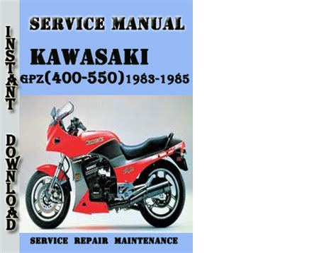 Pay For Kawasaki Gpz 400 550 Z 400 500 550 1983 1985