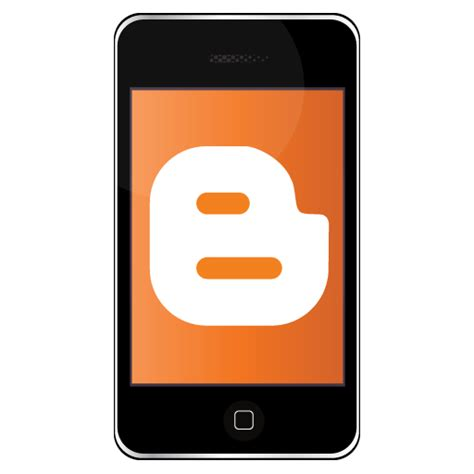 blogger on iphone iphone blogger icon iphone social icons softicons com