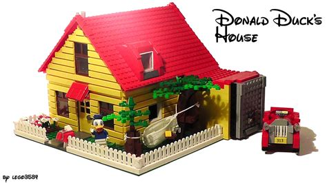 lego haus bauen lego ideas donald duck s house