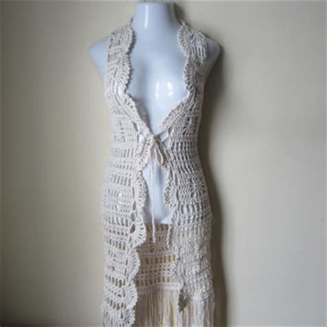 free crochet pattern vest with fringe   google suche crochet vest pinterest fringes