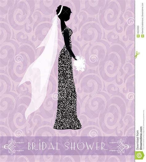 bridal shower background bridal shower card stock vector image 69226909