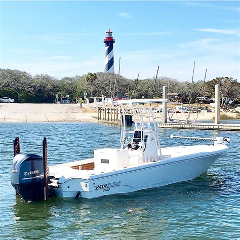 st augustine charter boats st augustine fl fishing charter and guide pathfinder boats