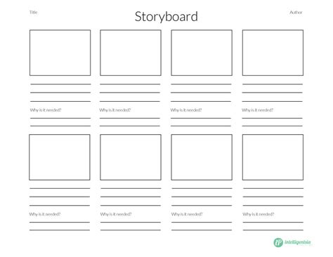 Presentation Storyboard Template A Ppt Storyboard Template Exle Of Storyboard Powerpoint