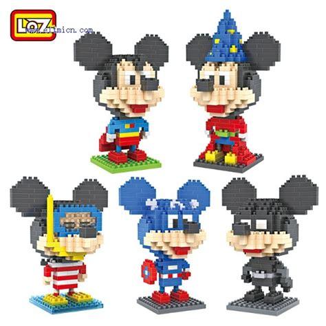 Loz Lego Nano Block Basic Parts X13 loz blocks mickey mouse series