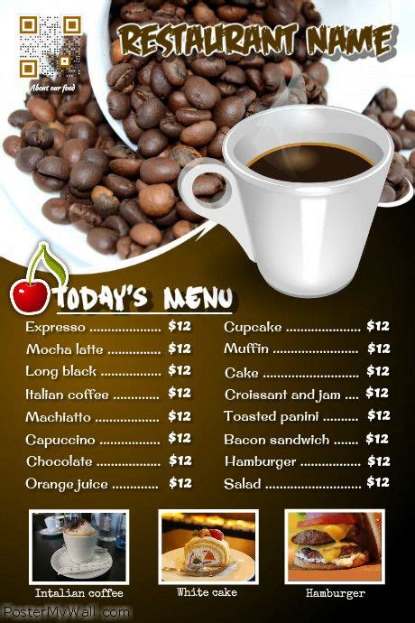 cafe flyer template 101 best images about restaurant flyers diy on