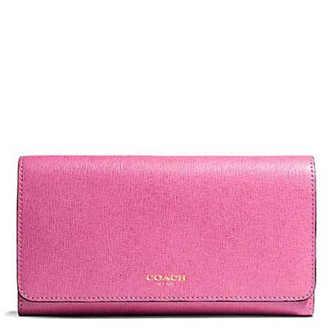 Coach Checkbook Wallet 10 coach f50155 saffiano leather checkbook wallet 23824