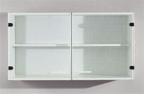 meuble haut 2 portes vitr 233 es crea cook meuble de cuisine cuisine