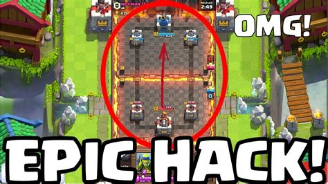 download game clash royale mod revdl is a new bug or hack clash royale youtube