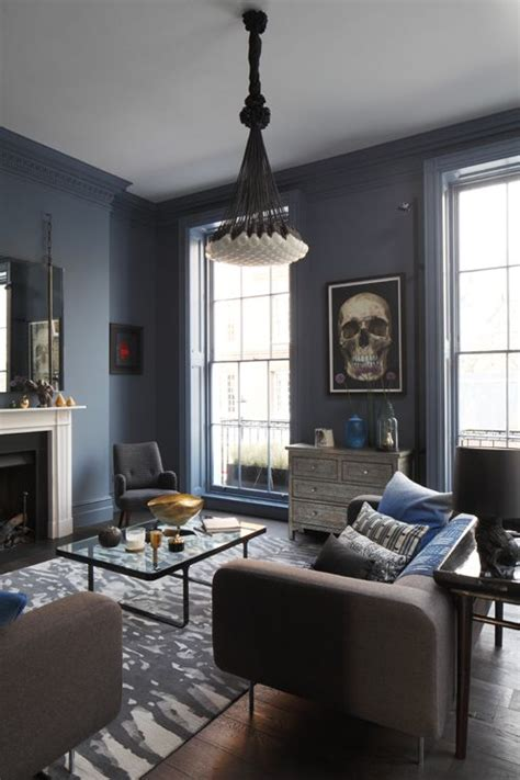 living rooms in blue the smoky blue walls color my world