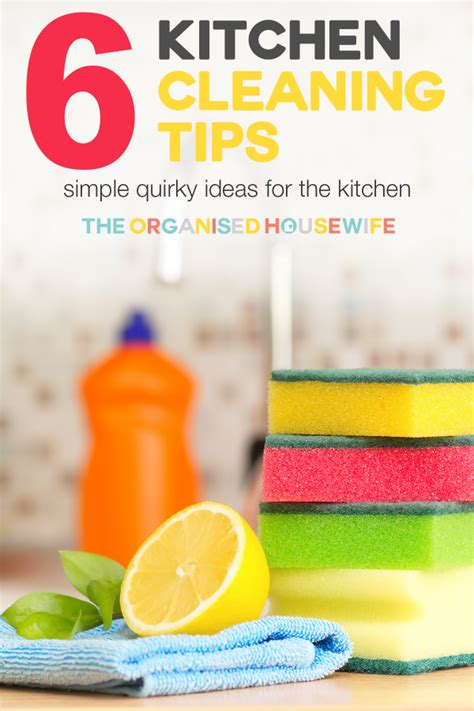 cleaning tips for kitchen kitchen cleaning tips the organised housewife