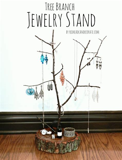 where can i get a tree stand tree branch jewelry stand can decorate