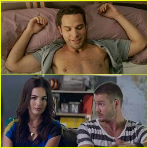 kenny wormald y su novia skylar astin camilla belle cavemen movie trailer