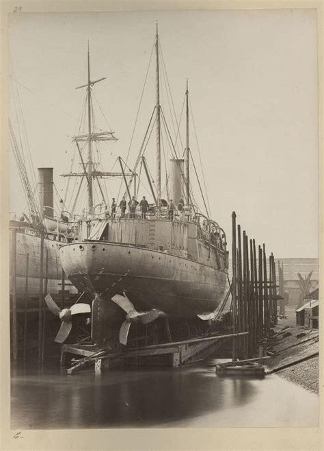 Qing Navy cruiser chaoyong of the qing dynasty beiyang fleet