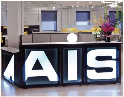 ais reception desk office furniture ais cubicles